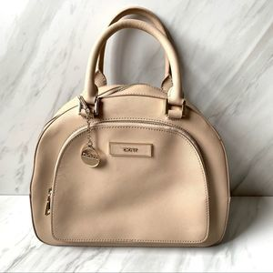 DKNY Leather Tan Purse with shoulder strap